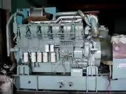 máy phát điện cũ của nhật